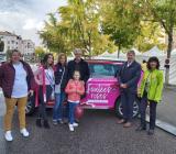 L'association présente aux foulées roses à Epinal