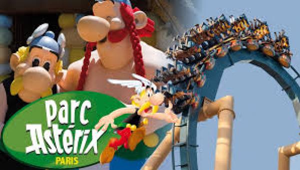 LAURIE aimerait se rendre au Parc Astérix