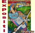 EXPOSITION de peintures ART'MONIE à ECROUVES le 19 novembre 2016