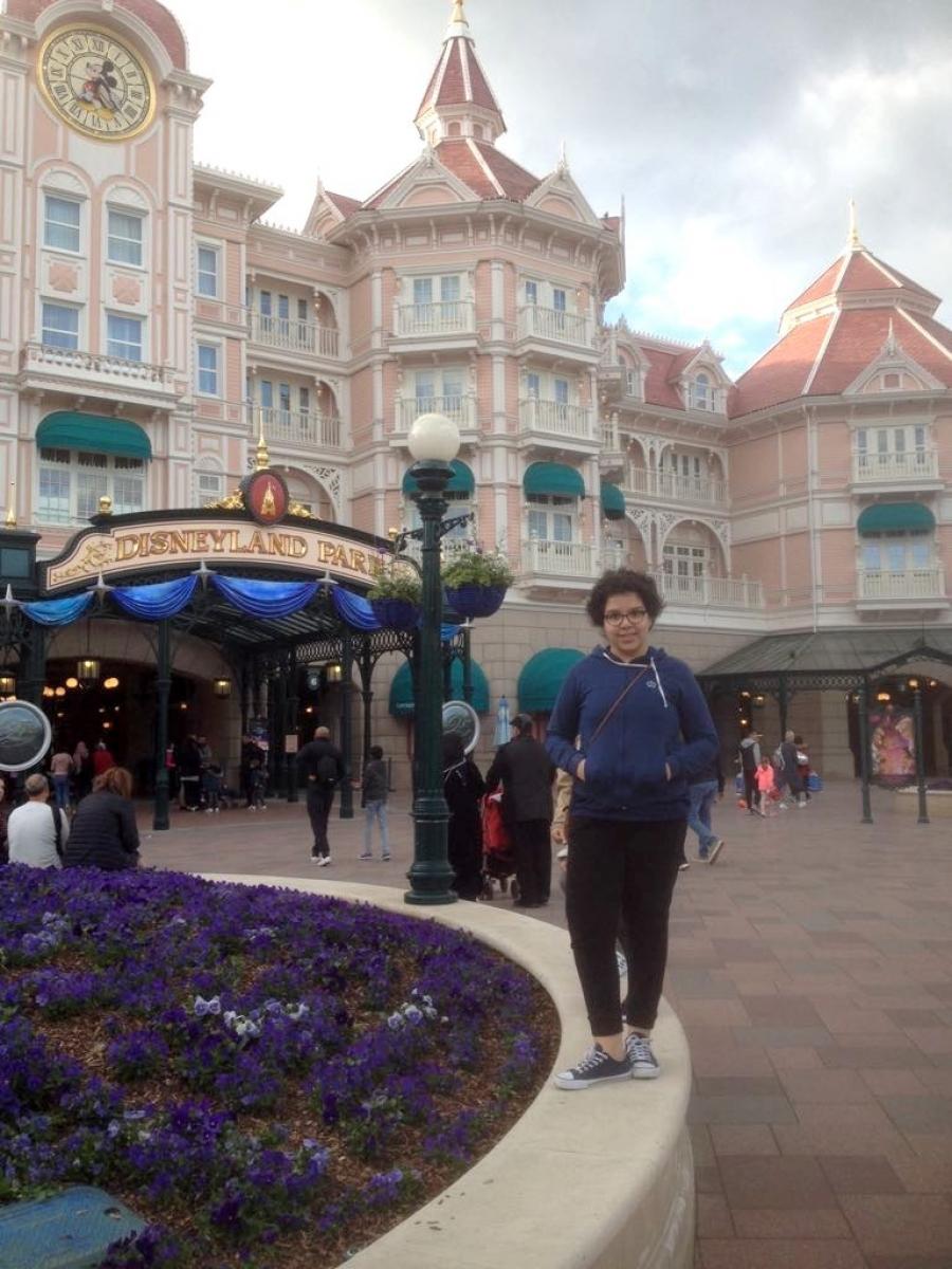 MAISSAME a rencontré Mickey et ses amis