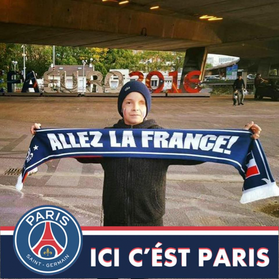 valentin au Stade de France