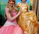 Lou a rencontré les princesses de ses rêves