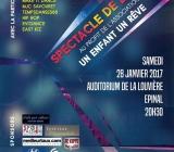 spectacle de danse à La Louvière le 28 janvier 2017 à EPINAL